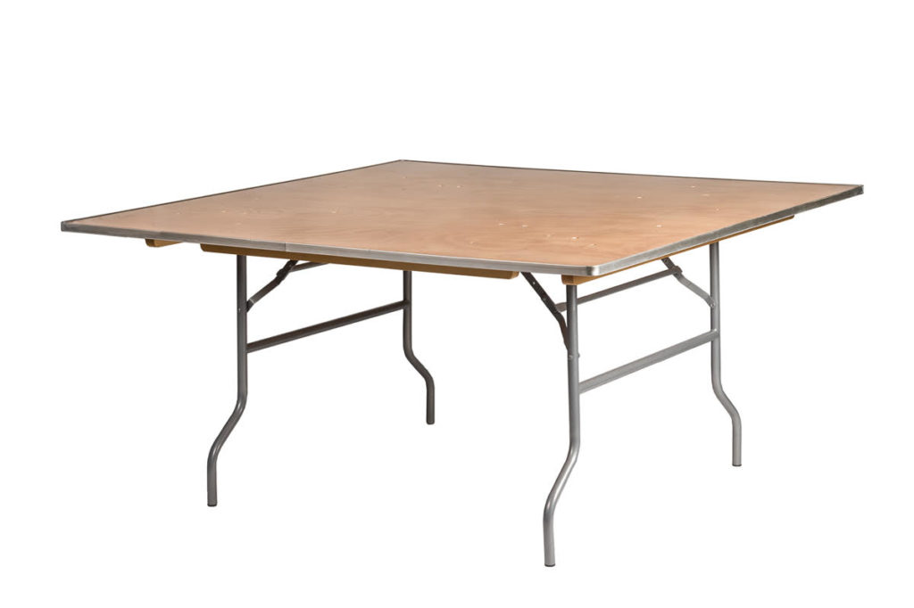 "60""x60"" Square Tables $15.00  (seats 8-10 ppl)"