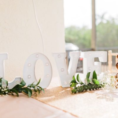 Love Marquee Sign $10