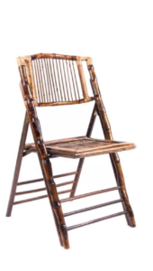 bamboo folding chair edited