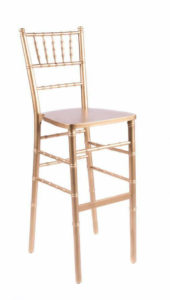 Gold Chiavari Bar Stool $10