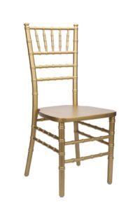 Gold Chiavari Chairs - $4.75