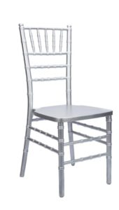 Silver Chiavari Chair - $4.75