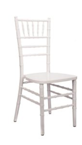 White Chiavari Chairs - $4.75
