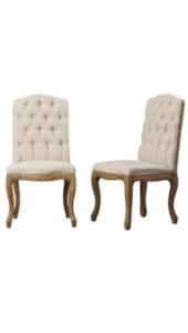 Bella Chairs - $45 each