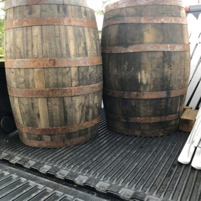 Barrel $45 each