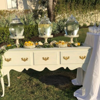 Matalie Buffet Table $75