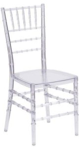 Clear Chiavari Chair - $5.75
