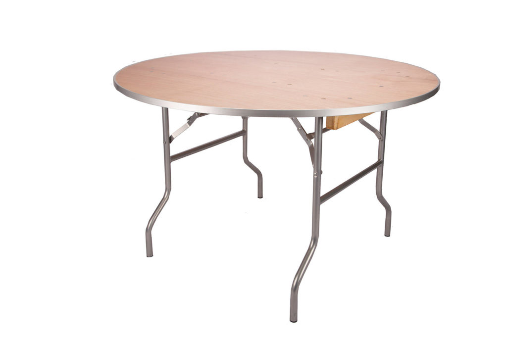 4ft Round Tables $7.00 (4-6 ppl)