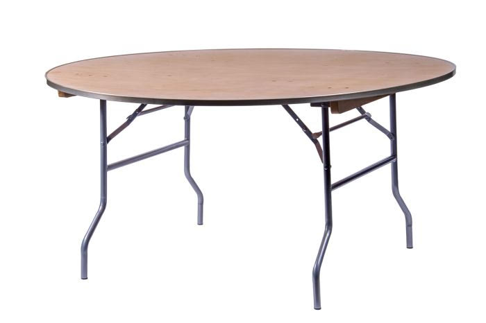 5ft Round Tables $8.50 (seats 8-10ppl)