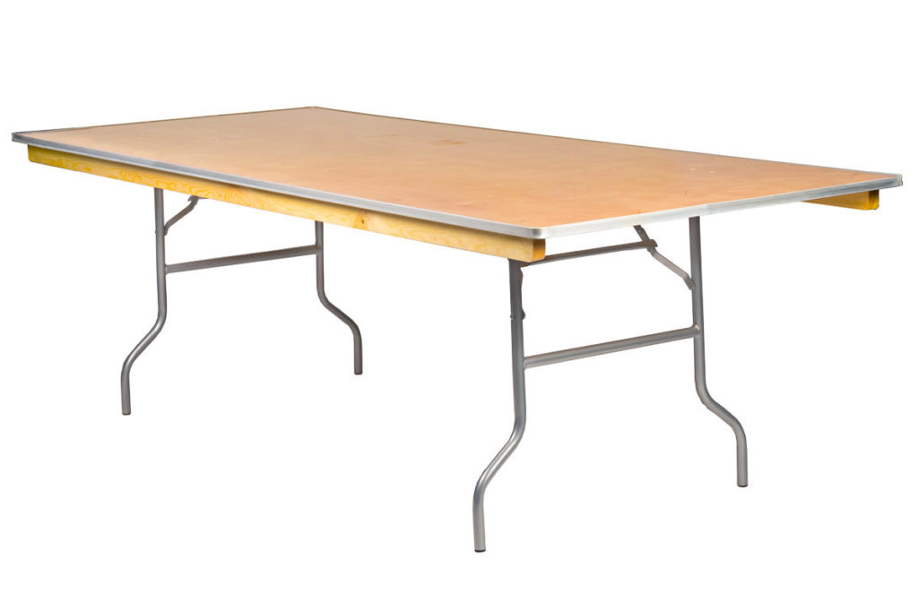 8ft x 4ft Kings Table $22.00 (seats 8-12 ppl)