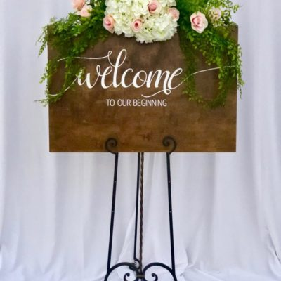 Welcome Sign $45