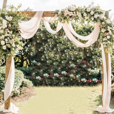 2 Post Wooden Arch $125