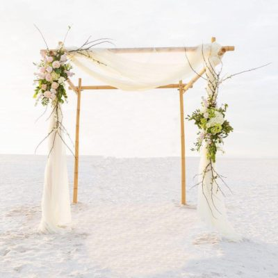 4 Post Bamboo Arch $325
