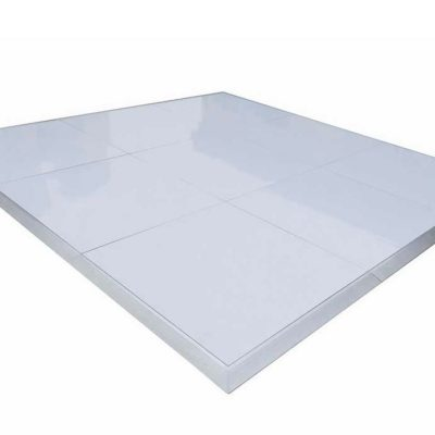 White Dance Floor up to 24' x 24' - Call for pricing
