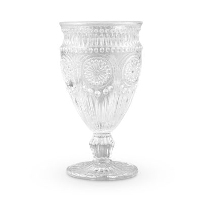 Clear Goblet $2.50